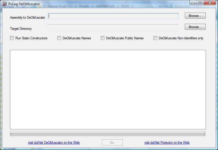Click to view PvLog DeObfuscator Win32 screenshots