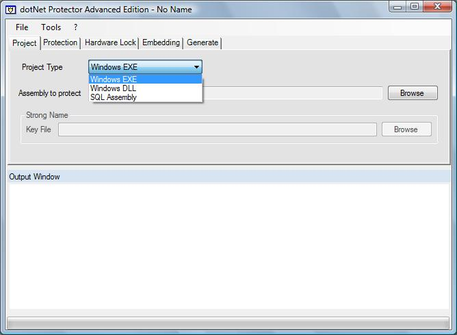 dotNet Protector 6.0.6394 Screen shot
